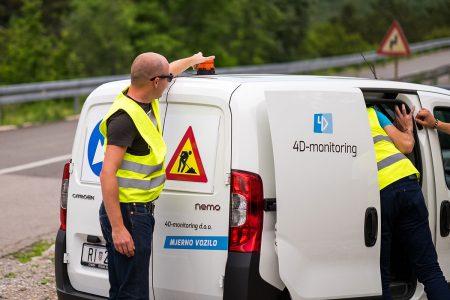 4D-monitoring mjerno vozilo