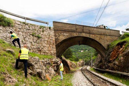 Evidencija postojećeg stanja potpornih zidova županijskih cesta PGŽ